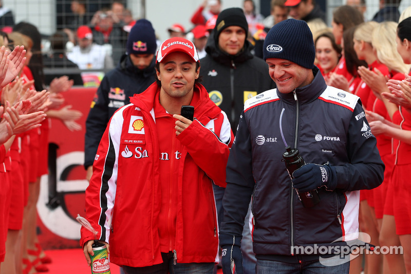 Felipe Massa, Scuderia Ferrari, Rubens Barrichello, AT&T Williams