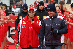 Felipe Massa, Scuderia Ferrari, Rubens Barrichello, AT&T Williams