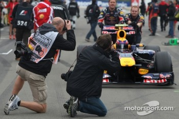 Photographers, Mark Webber, Red Bull Racing
