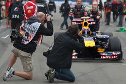 Photographers, Mark Webber, Red Bull Racing