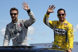 James Hinchcliffe, Newman/Haas Racing and Helio Castroneves, Team Penske
