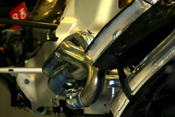 Mercedes GP, Technical detail exhaust