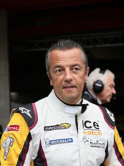 Indy team owner Eric Bachelart
