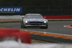#90 Team Preci Spark Mercedes SLS AMG:David Jones, Godfrey Jones, Mike Jordan