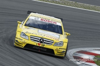 David Coulthard made it into Q3 for the first time in his DTM career