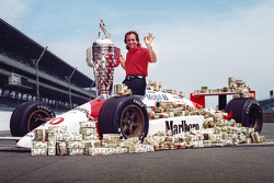 Race winner Emerson Fittipaldi