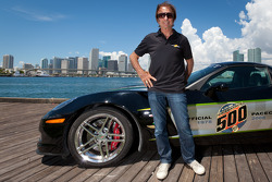 Emerson Fittipaldi Miami photoshoot
