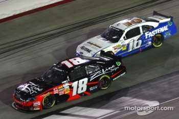Kyle Busch and Trevor Bayne