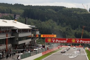 Start at Spa-Francorchamps