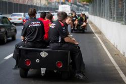 Penske team members