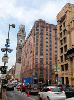Traffic in downton Baltimore