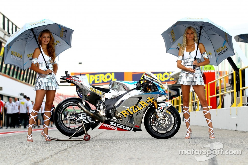 Rizla Suzuki MotoGP bike