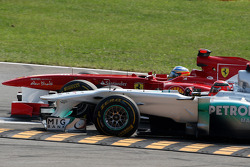 Michael Schumacher, Mercedes GP F1 Team, Fernando Alonso, Scuderia Ferrari