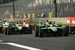 Antonio Felix Da Costa leads Valtteri Bottas