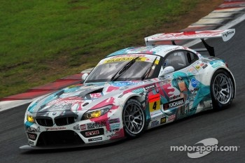 #4 Hatsunemiku Goodsmile BMW: Nobuteru Taniguchi, Taku Bamba
