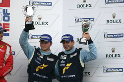 GTE Pro podium: third place Marc Lieb and Richard Lietz