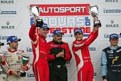 LMGTE PRO Winners: #51 AF Corse Ferrari F430: Giancarlo Fisichella, Gianmaria Bruni