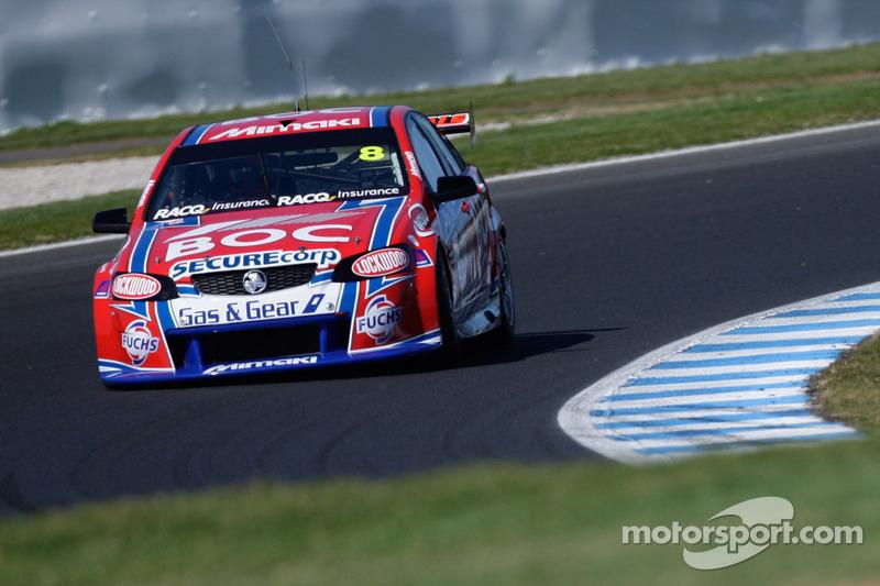 Brad Jones Racing Holden Commodore: Jason Bright, Andrew Jones