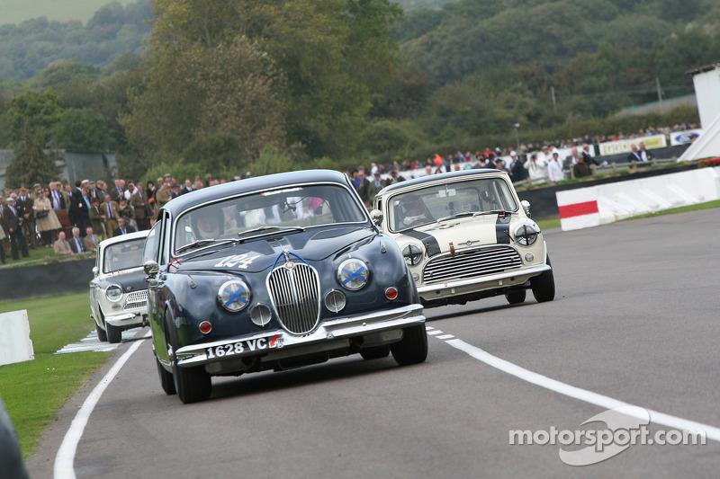 Saloon Cars: Antony Reid-Jaguar Mk3