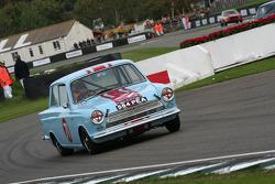 Saloon Cars: Derek Bell - Ford Lotus Cortina