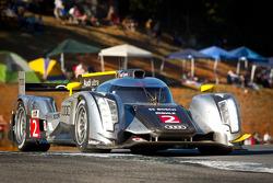#2 Audi Sport Team Joest Audi R18: Tom Kristensen, Allan McNish, Rinaldo Capello