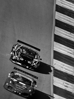 #62 CRS Racing Ferrari F430: Pierre Ehert, Tim Mullen, Roger Wills, #01 Extreme Speed Motorsports Ferrari F458 Italia: Scott Sharp, Johannes van Overbeek, Dominik Farnbacher