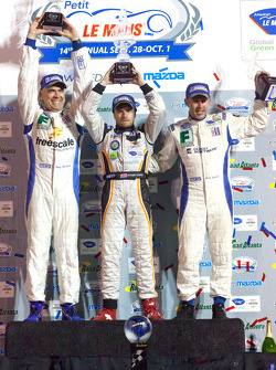 PC podium: class winners Ken Dobson, Henri Richard and Ryan Lewis