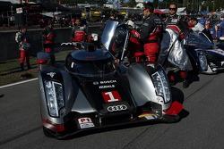 #1 Audi Sport Team Joest Audi R18: Timo Bernhard, Marcel Fässler, Romain Dumas