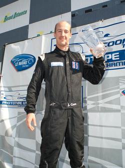 Jonathan Gore accepts his 2011 Season Trophy