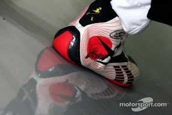 Shoes of Lewis Hamilton, McLaren Mercedes