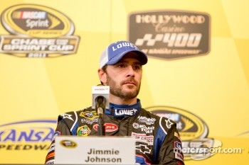 Post-race press conference: race winner Jimmie Johnson, Hendrick Motorsports Chevrolet