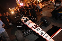 Indycars take to the streets of Las Vegas
