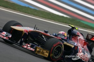 Jaime Alguersuari finished in 7th, and Buemi in 9th position