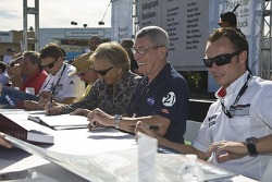 Autograph session for the Porsche Rennsport Reunion IV