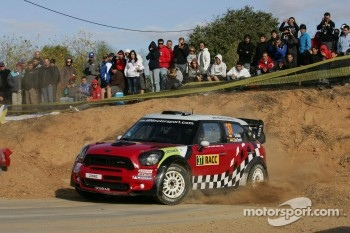 Daniel Sordo and Carlos del Barrio, Mini John Cooper Works, MINI WRC TEAM