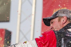 Victory lane: race winner Clint Bowyer, Richard Childress Racing Chevrolet