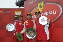 Trofeo Pirelli F430 Italia race 1 podium