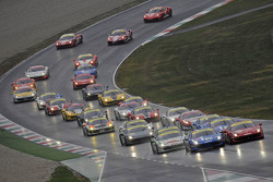 Ferrari Challenge Europa and Asia Pacific race 1