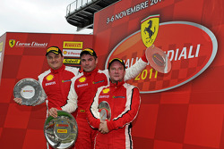 Coppa Shell F430 Challenge Europe race 2 podium