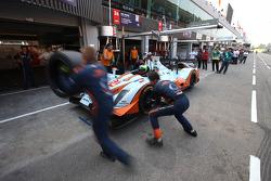 #24 Oak Racing Oak Pescarolo - Judd: Jacques Nicolet, Alexandre Prémat, Olivier Pla