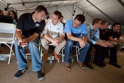 Championship contenders press conference: Tony Stewart, Ricky Stenhouse Jr. and Elliott Sadler