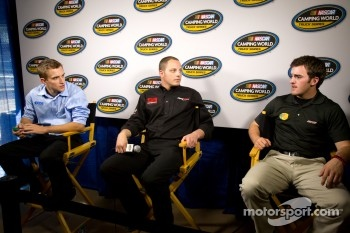 Championship contenders press conference: James Buescher, Johnny Sauter and Austin Dillon
