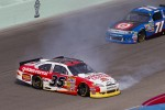 Dave Blaney, Tommy Baldwin Racing Chevrolet crashes