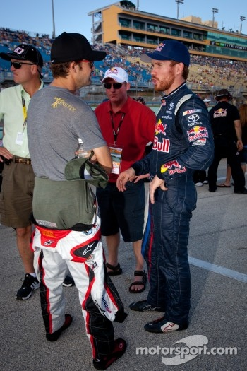 Stanton Barrett and Brian Vickers, Red Bull Racing Team Toyota