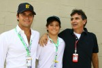 Nelson A. Piquet and father Nelson Piquet