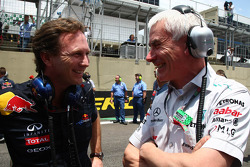 Christian Horner, Red Bull Racing, Sporting Director and Geoff Willis