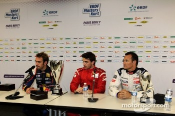 Winner Jules Bianchi, second place Jean-Eric Vergne, third place Stphane Sarrazin