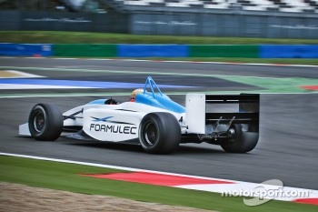 Jules Bianchi tests the Formulec EF01
