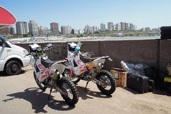 The bike of Jacek Czachor