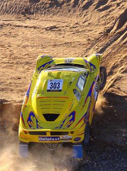 Regis Delahaye, MD Rallye Buggy